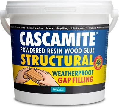 Cascamite One Shot Structural Wood Adhesive Powdered Resin Glue Tub 500g