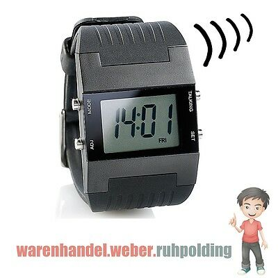 Sprechende Armbanduhr-Blindenuhr, Talking Watch,