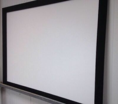 Screen labs Fixed Frame Front Projection Screen 1600mm x 1200mm 4:3 format USED