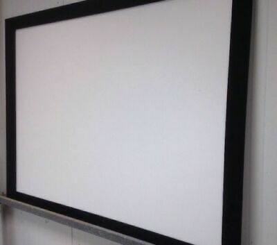 Screenlabs Fixed Frame Front Projection Screen 1600mm x 1200mm 4:3 format USED