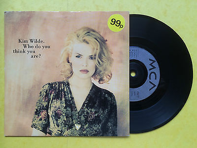 Kim Wilde - Who Do You Think You Are? / Try Again, MCA KIM-17 Ex Condition