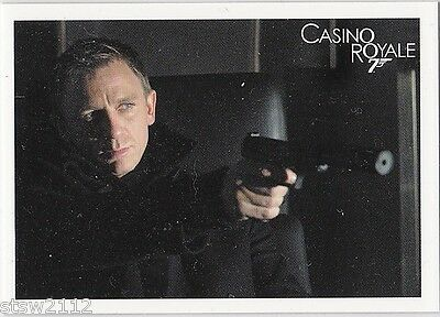 James Bond 2014 Archives P1 General Distribution Promo Card Daniel Craig