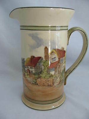 Royal Doulton Series Ware Pitcher Countryside D-3647