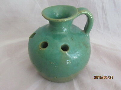 North State Pottery Flower Frog North Carolina Made