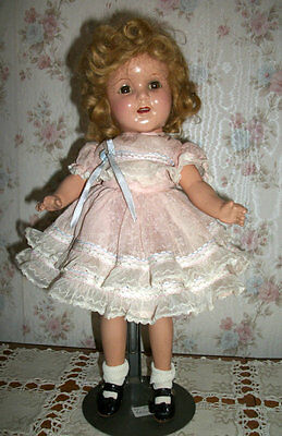 """1930's Ideal Shirley Temple Type Composition 13"""" Doll"""