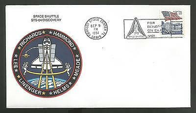 Space Shuttle Discovery Sts-64 Sep 9,1994    Ksc