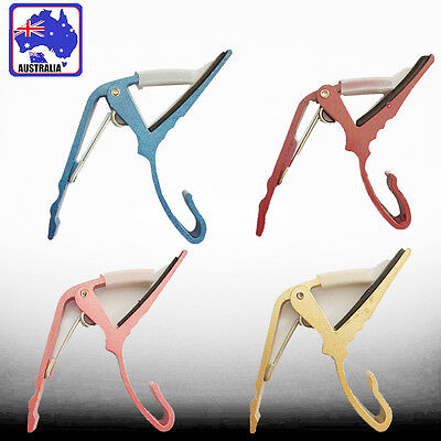 Guitar Capo Capos Change Trigger Electric Acoustic Clamp Release Metal SMUGI93