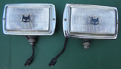 VINTAGE MARCHAL DRIVING LIGHTS BMW TR6 TR4 DODGE PLYMOUTH FORD FIAT VW PORSCHE