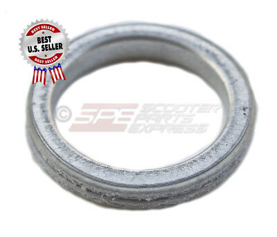 Exhaust Gasket Ring 4 Stroke GY6 50 139QMB Scooter Moped ~ US Seller