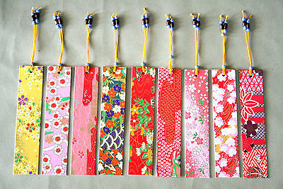 Japanese Bookmark Origami Paper Card -BUY  3, GET 1 MORE FREE! YOUR CHOICE!