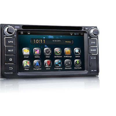 US STOCK! New Android Double 2 DIN Car DVD GPS I for Toyota Corolla/VIOS/CROWN