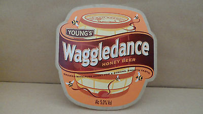Youngs Waggledance Honey Ale Beer Pump Clip Pub Bar Collectible 30