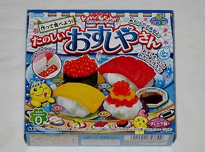 kracie popin cookin happy kitchen Japanese candy making kit Sushi