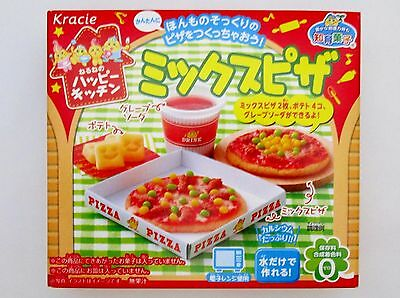 kracie popin cookin happy kitchen Japanese candy making kit Mixed Pizza