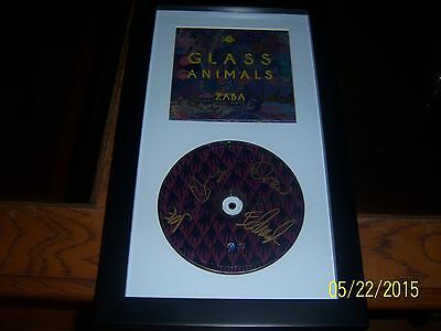 Glass Animals - Zaba  Framed Signed Cd Digipak Display