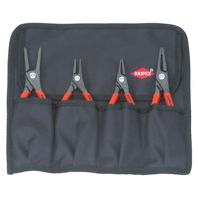 Knipex 4pc Internal & External Circlip Pliers Set 00 19 57