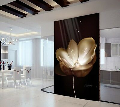 3D Luminous Flowers 11 Wall Paper Wall Print Decal Wall Deco Indoor wall Murals