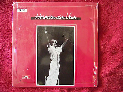 Herman van Veen - 3 LP     German Polydor 3er LP Set   NEU OVP