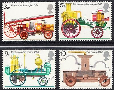 GB 1974 Bicentenary of Fire Prevention SG950 -  953 Complete Set Unmounted Mint