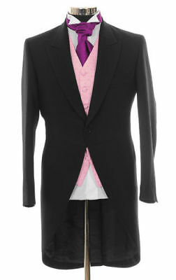 Boys Tail Coat Black Tailcoat Wedding/pageboy/ Prom/stage/morning Suit