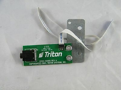 Triton ~ 9100 Atm ~ Headset Adapter ~ Ada ~  Part Number 01152-00085 Rev A