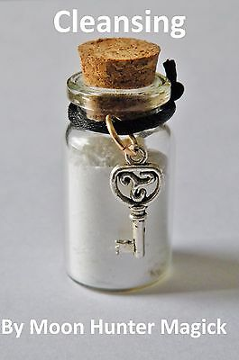 Cleansing Powder Spell Witch Bottle©  Pagan Hoodoo Rootwork Chakra Purification