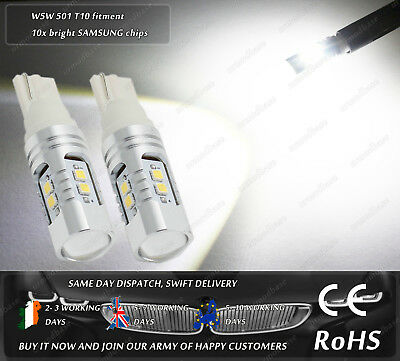 W5W 501 T10 Wedge CanBus Cree LED Reverse Lights For Mercedes Benz W212 E Class