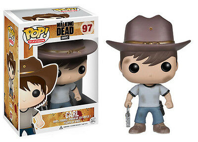 The Walking Dead POP! - CARL GRIMES 10cm Vinyl Figur - OVP Funko