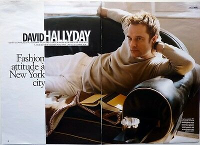 DAVID HALLYDAY => coupure de presse 8  pages 2007 // French clipping !!!