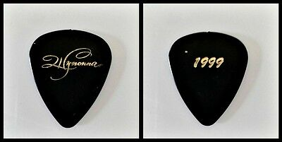 "Wynonna Judd ""1999"" Black Guitar Pick"