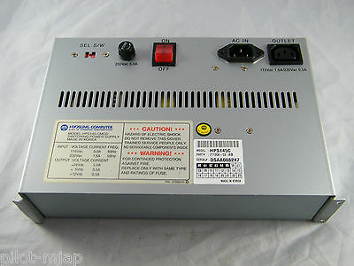 Mini-Bank 1000 Atm ~ Power Supply Assembly ~ Part # 711304-02 /ab ~ Md # Hps145C