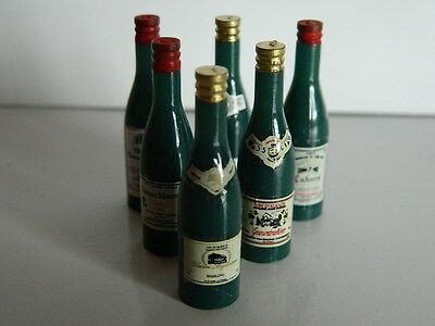 (F1-4) Dolls House Six Bottles Of Assorted Wine