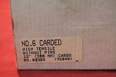Clipper Belt Fasteners No 6 Carded High Tensile without Pins 12 inches No 02355