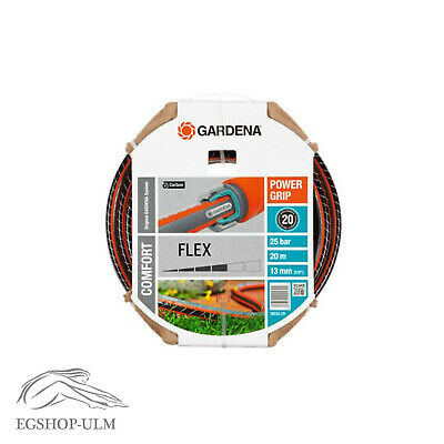 "Gardena Comfort Flex Schlauch m. Power Grip 20m Bewässerung 13mm (1/2"") 18033-20"