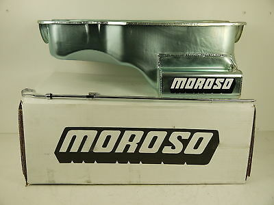 "Ford 351 Windsor Sump Oil Pan 8"" Deep 6.6 Litre Front Sump Moroso 20507"