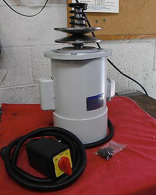 REPLACEMENT MOTOR FOR IMPORT Bridgeport type MILLING MACHINE SINGLE PHASE VSM1