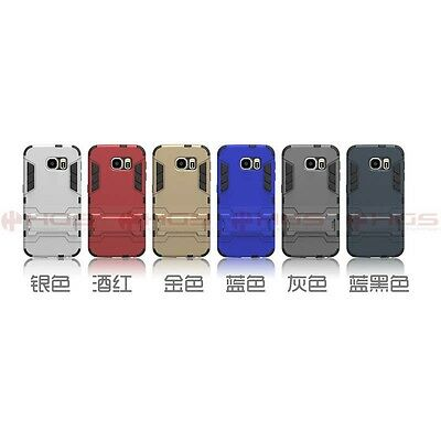 10/ Lot Hybrid Rugged Kickstand Case Cover for SAMSUNG Galaxy S6 Edge G9205