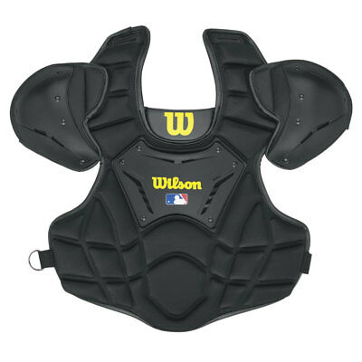 Wilson Guardian 11 Inch Baseball/Softball Umpire Chest Protector - Black