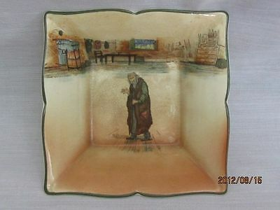 Royal Doulton Fagin Trinket Tray Noke Signed