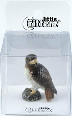 Little Critterz 103570 Totem Hawk in clear box with story card