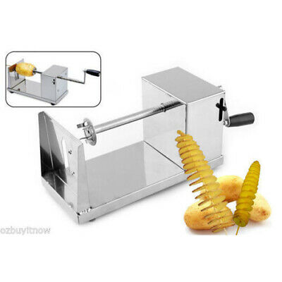 Stainless Steel Spiral Potato Carrot Twister / Slicer Cutter Tornado