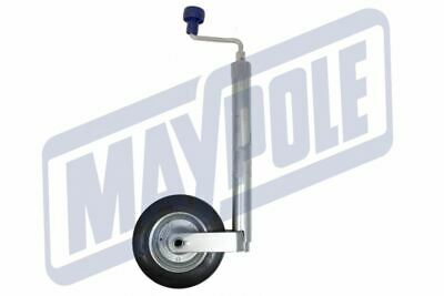 42mm Jockey Wheel Leg Plus Clamp Caravan Trailer Heavy Duty Maypole MP 227 NEW