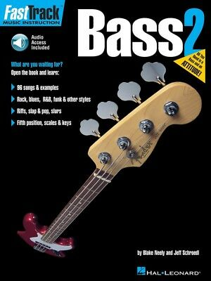 New Fasttrack Bass Guitar Book 2 - Book & Online Audio - Fast Track