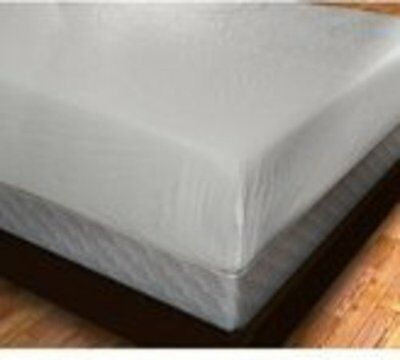 Plastic Fitted Mattress Protector Pad Cover Vinyl ,King, Full, Twin Queen & Crib
