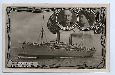 1910 RP NPU POSTCARD ROYAL TOUR OF SOUTH AFRICA BY DUKE OF CONNAUGHT q61
