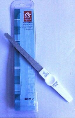Pfeilring 1200/16W Sapphire White Nail File Round 16cm - Suitable for Diabetics