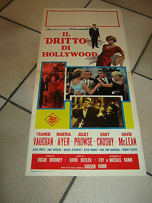 """locandina,1961 Il """"dritto"""" di Hollywood The Right Approach David Butler. Vaughan"""