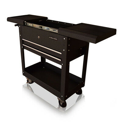 Us Pro Tools Tool Cart Trolley Workstaion Work Bench Box Opening Top