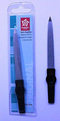 Pfeilring 1202/13SW Sapphire Black Nail File 130mm - Made in Germany