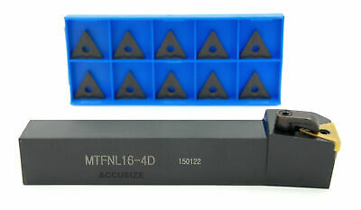 "1""x6"" RH MTFN L-16-4D Toolholer, with TNMG432 Carbide Insert, #2310-6018INS"